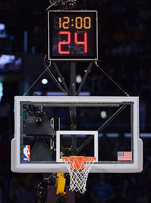 Image result for shot clock