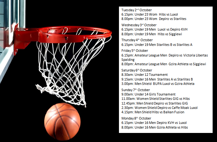 Games Oct 2 to 8